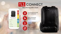 TLS Connect Smart Backpack with RFID