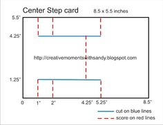 stepper card  here it is in inches instead of centimeters.
