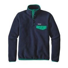 Patagonia Women's Lightweight Synchilla® Snap-T® Pullover | Navy Blue