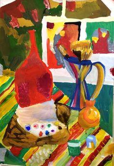 Wall | VK Art Club, Birthday Cake, Wall, Painting, Birthday Cakes, Painting Art, Walls, Paintings, Painted Canvas