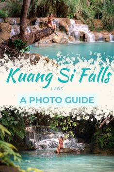 Want to take the most beautiful photos of Kuang Si Waterfall? This photography guide will help you g Laos Travel, Hawaii Travel, Asia Travel, Croatia Travel, Thailand Travel, Italy Travel, Photography Guide, Autumn Photography, Travel Photography