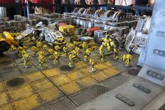 Awesome Zone Mortalis diorama showing an amazing-looking boarding action