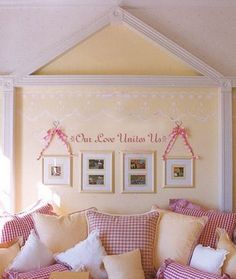 Kids Love Quotes and Sayings Wall Stickers for Bedroom Wall Decoration Ideas