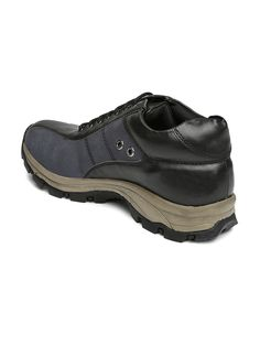 Knotty Derby | Men Navy & Black | Michael Two Eye Casual Shoes
