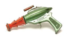 Stingray - Lone Star - cap pistol - this was a re-use of the 'Space Ranger' cap gun from the late 50's, and later 'Dan Dare' with Stingray added to the side