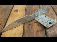 Knife-Bevel Grinding Jig - YouTube