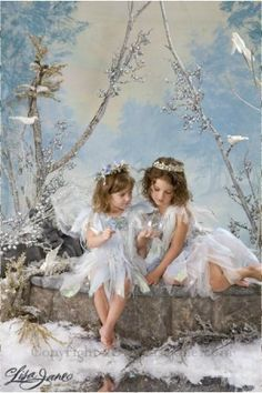 Children and Babies Lisa Jane snow fairy