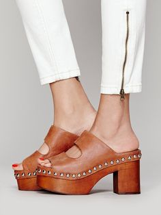Jeffrey Campbell + Free People Westville Clog at Free People Clothing Boutique