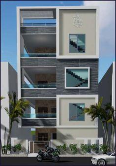 Ideas Villa Main Door House Plans For 2019 Modern Exterior House Designs, Modern House Plans, Modern House Design, 3 Storey House Design, Bungalow House Design, House Outside Design, House Front Design, Door Design, House Elevation