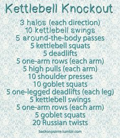 Back On Pointe — Kettlebell Knockout!