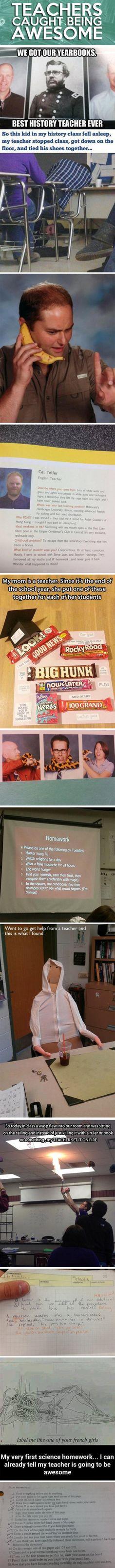 Teachers Caught Being Awesome | Tickld.com