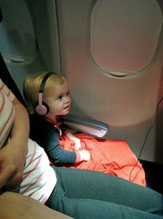Flying on a plane with a toddler