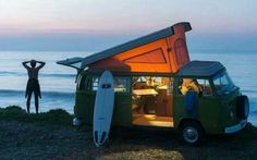 Our next adventure - hire one of these and travel up the coast of Australia