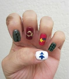 gravity falls nails - Google Search