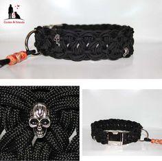 Paracord Hundehalsband WAVE