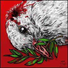 Caricatura: Símbolo de paz. #Venezuela #SOSvenezuela #prayforvenezuela #ResistenciaVzla pic.twitter.com/qrtRy5TOrN
