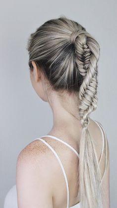 DNA Braid Hair Tutorial