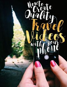 How To Create Quality Travel Video With Your Phone http://seattlestravels.com/create-quality-travel-videos-phone/