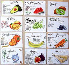 Food art - Healthy food @dancelovedraw Healthy Food, Healthy Recipes, Fruits And Vegetables, Food Art, Inspire Me, Healthy Lifestyle, Vitamins, Avocado, Drawings