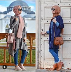 Hijab fashion style in winter – Just Trendy Girls
