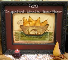 Pears Pattern by Terrye French