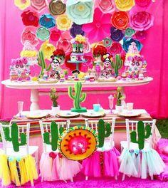Tema Cactos - Tendência Festa Infantil 2017 Frida Kahlo 7