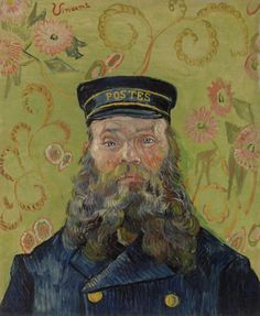 The Postman by Vincent van Gogh on view at The Barnes Foundation in Philadelphia. (Credit: Courtesy The Barnes Foundation)
