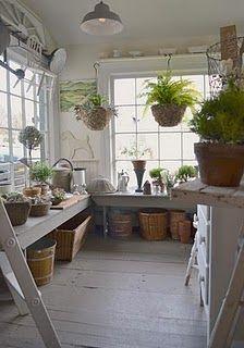 shelf/hooks/hanging bar over window