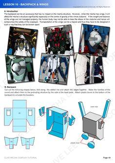 General Mecha/Gundam costume tutorial - Cosplay.com