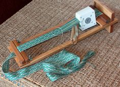 Beka Beginner's Loom (Model RH-4) - Beka  Not time period appropriate, but could be useful for making my own braids and such as decor. Weaving Loom Diy, Inkle Loom, Inkle Weaving, Card Weaving, Weaving Textiles, Weaving Patterns, Peg Loom, Lucet, Weaving Projects