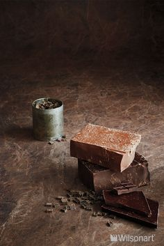 Chocolate Brown Granite, Antique Finish With Aeon™ 4958K-22 | Elegant and restrained, this fine-grained Brazilian stone is a deep red-brown laced with wispy, pale-peach veining throughout.