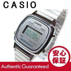 CASIO(カシオ) LA-670WA-7/LA670WA-7 スタンダード デジタル オールシルバー レディースウォッチ チープカシオ 腕時計 【あすつく】 :la-670wa-7:Goody online - 通販 - Yahoo!ショッピング Casio Watch, Fashion, Moda, La Mode, Fasion, Fashion Models, Trendy Fashion