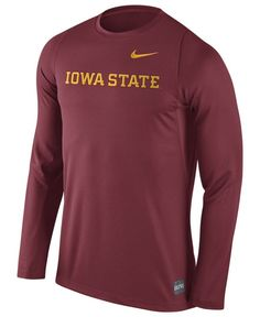 Nike Men's Iowa State Cyclones Elite Basketball Shooter T-Shirt