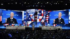 US-Vizepräsident Joe Biden während seiner Rede auf der Aipac-Konferenz