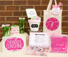 Gift Ideas for Teacher Appreciation day and Mother's day gift ideas!