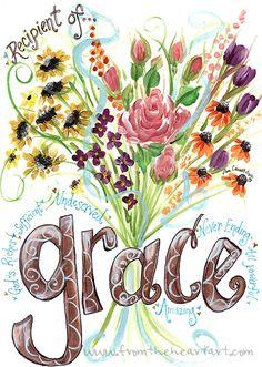 Grace Bouquet Print
