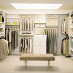 Great Beleuchtung begehbarer Kleiderschrank Ordnungssystem Ideen zum Selberbauen