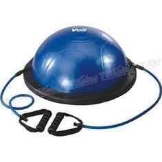 Voit Bosu Ball Denge Aleti - 59 Cm Çapında  Kaslarınızı güçlendirmeye yardımcı olur.  2 Adet çekme ipi vardır.  1 Adet pompa mevcuttur. - Price : TL344.00. Buy now at http://www.teleplus.com.tr/index.php/voit-bosu-ball-denge-aleti.html