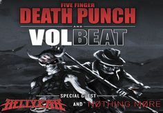 Five Finger Death Punch with Volbeat takes over Times Union Center on Sept. 27th! http://www.timesunioncenter-albany.com/