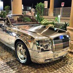 LOVE this car! #amazingcar #chromedoutcar #chrome #rollsroyce