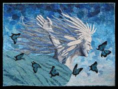 Transformation By Art Quilter, Textile Artist Cindy Watkins