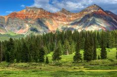 """""""Mountains on CO Highway 145"""""""