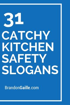 List of 51 Catchy Kitchen Safety Slogans Funny Safety Slogans, Catchy Slogans, Catchy Captions, Funny Pictures With Captions, Funny Pics, Kitchen Quotes, Kitchen Humor, Slogan List, Anti Smoking Poster