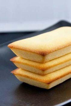 Gluten Free Financiers (Mini French Tea Cakes) Recipe See: http://glutenfreerecipebox.com/gluten-free-financiers/ #glutenfree