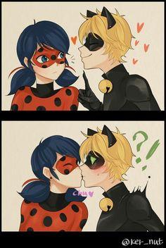 LadyNoir kiss