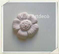 Fiorellino in gesso profumato alla vaniglia