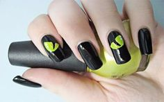 We're counting down the days to Halloween. These fun nail art ideas just might show up your costume. Halloween nail arts is not as difficult as you might think. You can make any styles and designs using color that you probably already have on hand. You're going to love these nail art designs.