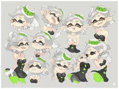 Splatoon Squid Sisters, Splatoon Games, Callie And Marie, Stars At Night, Cute Pokemon, Nintendo, Fan Art, Anime, Geek