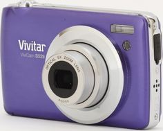 Vivitar VS529-PUR 16.1 Digital Camera with 2.7-Inch TFT LCD (Purple) by Vivitar. $44.99. Anti-Shake, Face and Smile Detection, Movie Clips and Red Eye Reduction. Save 55% Off!
