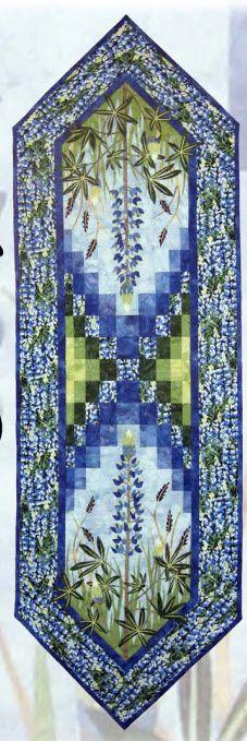 Field of Blue Tablerunner Kit